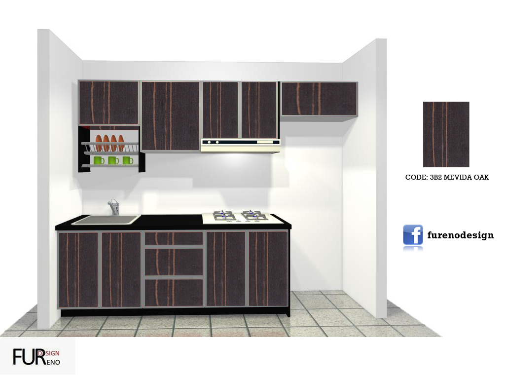 APARTMENT/PPR KITCHEN SET ~ FURENO DESIGN