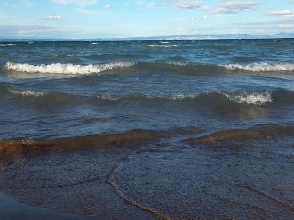 Excenevex Haute-Savoie plage lac léman