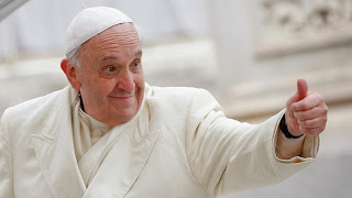 happy pope