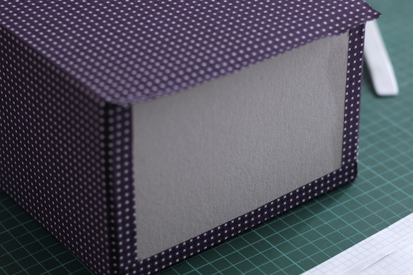 Ro Guaraz · caja de recetas · 06 · pegar bordes inferiores