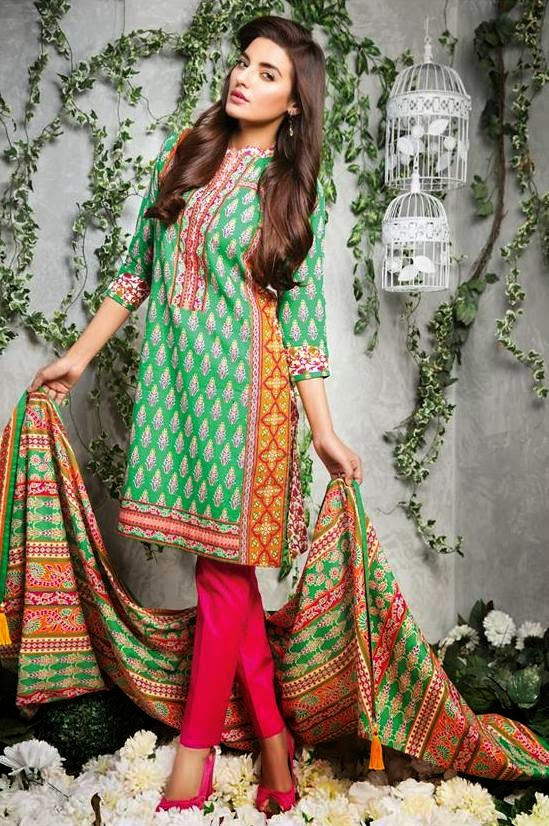 Satrangi Lawn Prints Collection