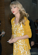 Taylor Swift in a House of Lavande Bangle on Good Morning America