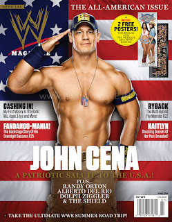 News » Check Out WWE Magazine's July Issue Preview + Download HQ Cover Artwork (Feat. John Cena) - free download, scan, pdf, hd