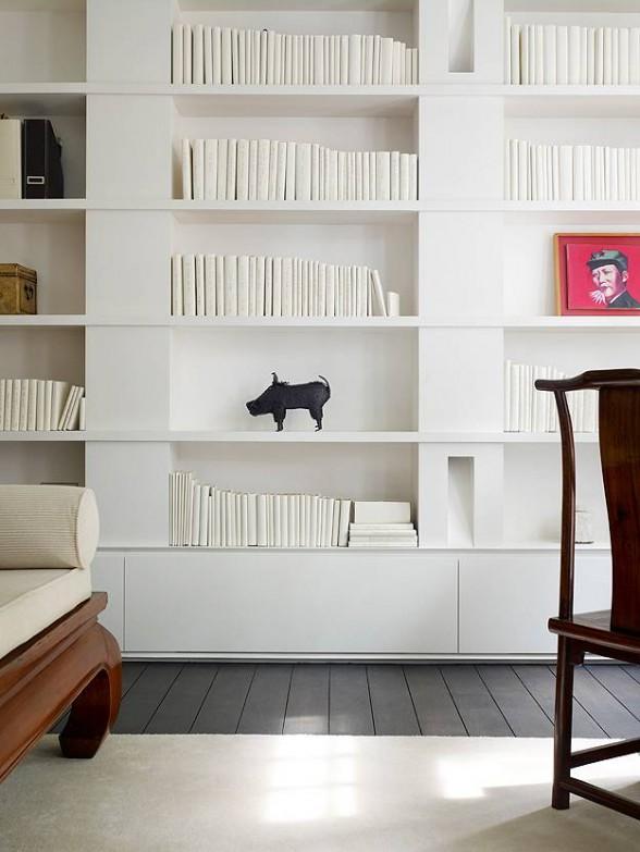 Modern minimalist house design for Modern minimalist bookcase