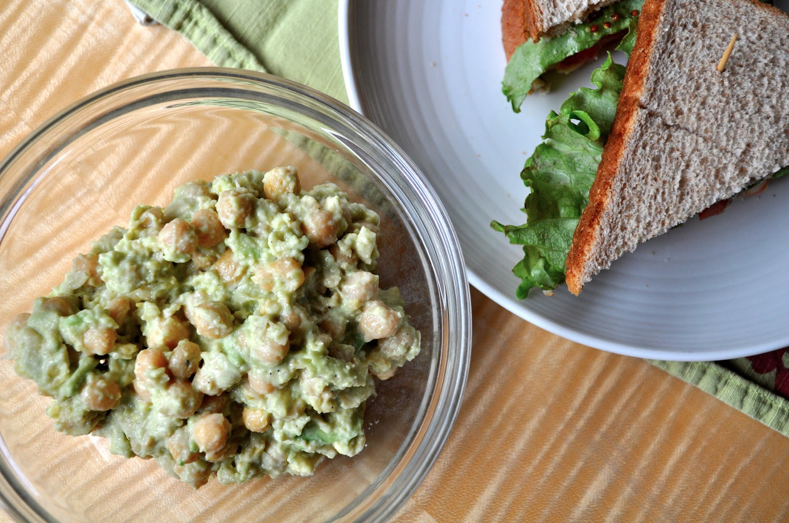 ... Like This: Recipe: Smashed Chickpea and Avocado Salad Sandwiches