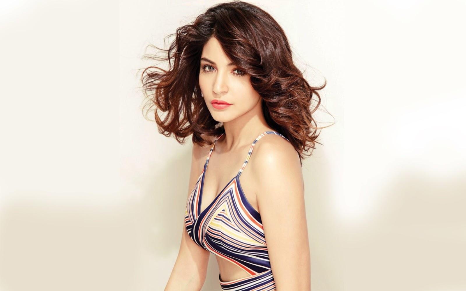 Priyanka Chopra Hot Bikini, Bra, Swimsuit, Navel, Cleavage Anushka sharma hot photoshoot pics