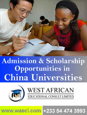 Scholarship consultants for china universities