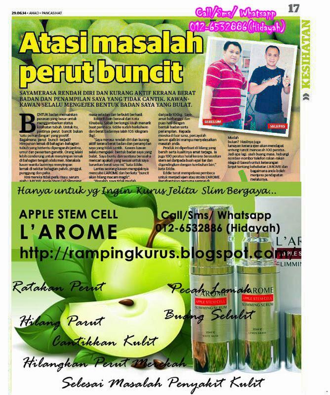 Johor Iklan Percuma: IklanJohor: Larome Serum Kurus Apple ...