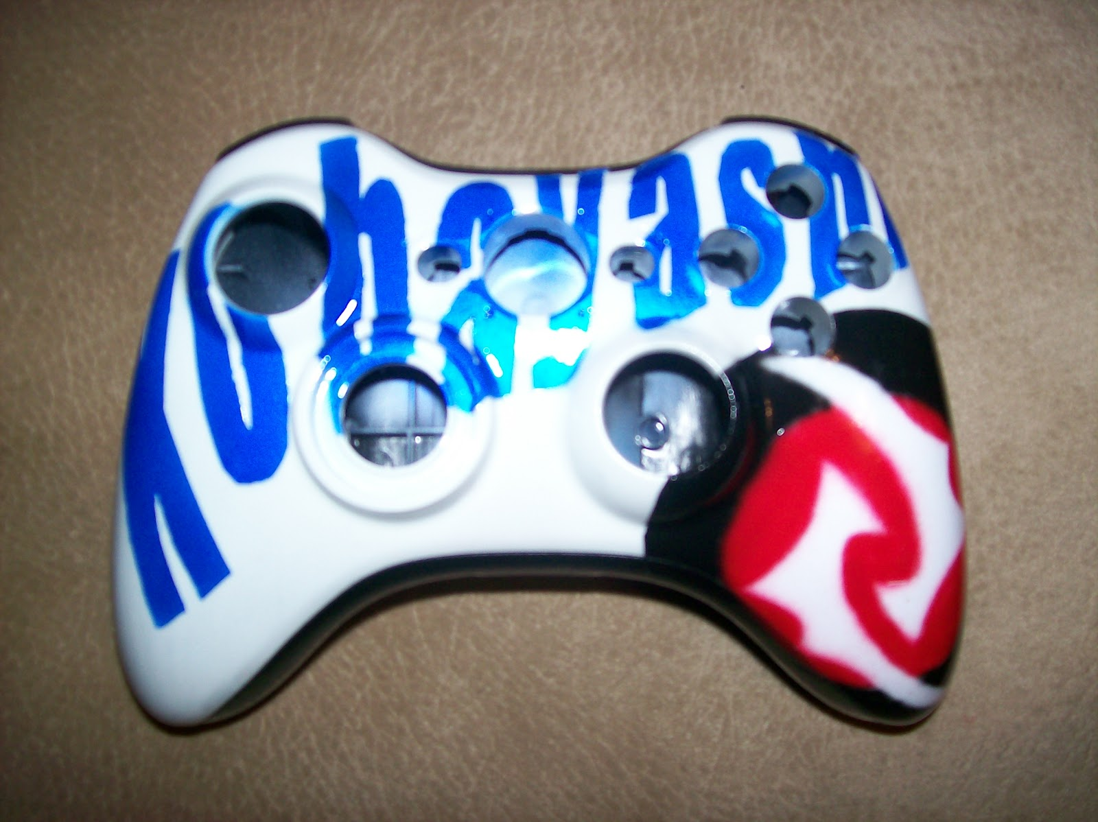 Xbox 360 Controller Drawing Airbrush Master: Xbox ...