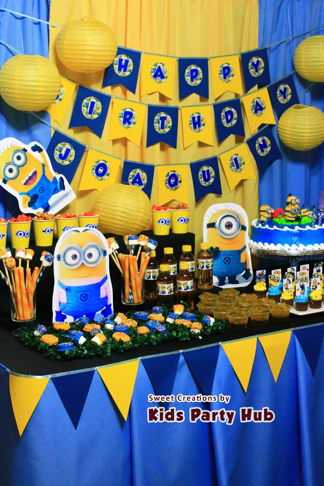 Kids Party Hub: Despicable Me Minions Themed Party ...