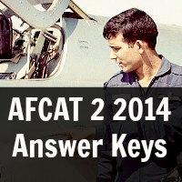 AFCAT 2 2014  Answer Keys