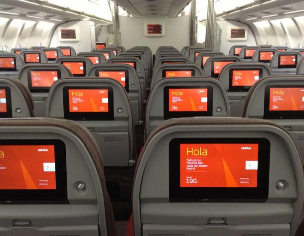 Iberia implantará en sus aviones la clase Premium Economy