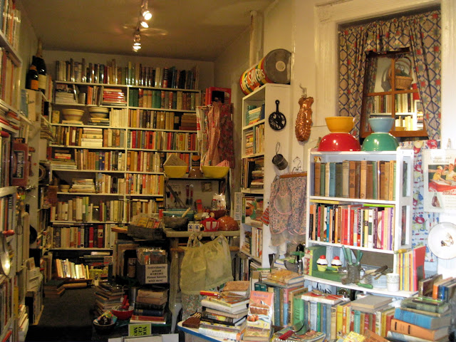 Search through the stacks at Bonnie Slotnick Cookbooks for a unique New York shopping experience.