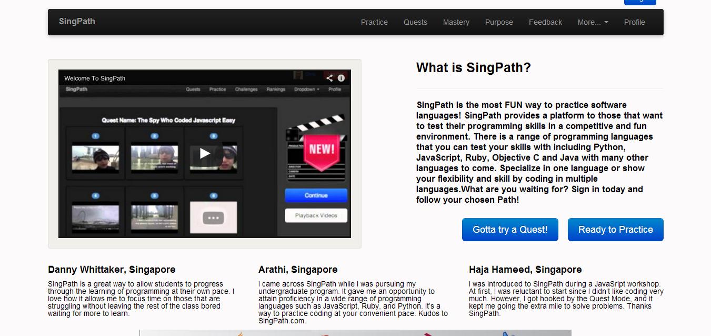 SingPath
