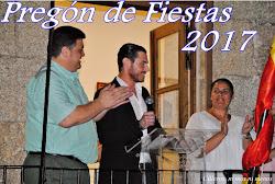 PREGÓN DE FIESTAS 2017