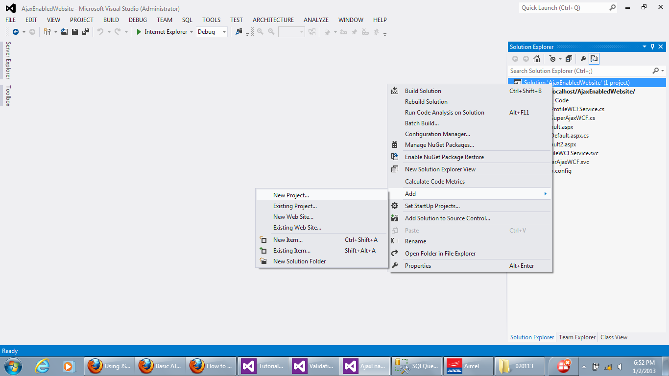how to create windows service application in c