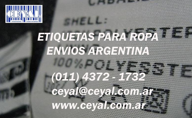 rollo de etiquetas Nueva Galia provincia de San Luis Retira por capital Federal