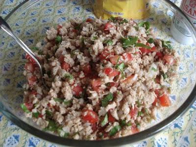 Receta de ceviche con carne de Soya