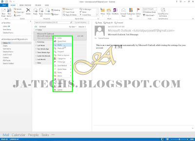 Auto Add Signature in MS Outlook Emails - Step 12