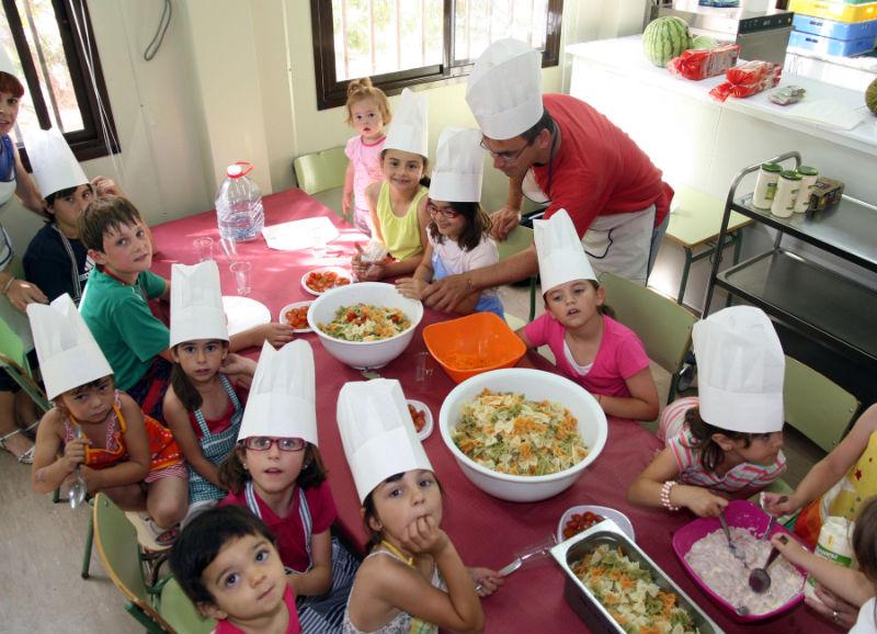 escuela infantil patosos taller de cocina