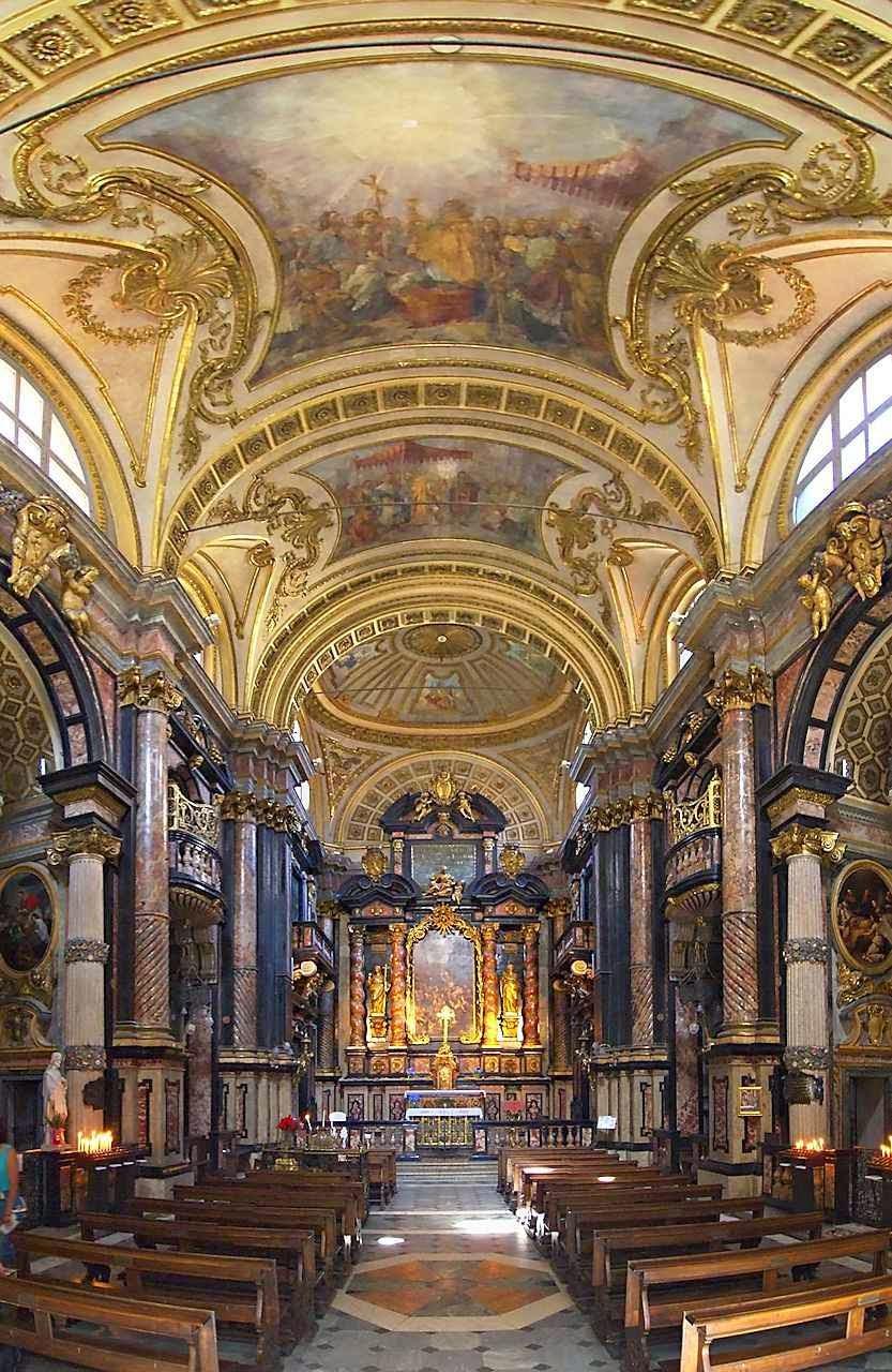 A atual Basílica do Corpus Domini construída para perpetuar a lembrança do milagre