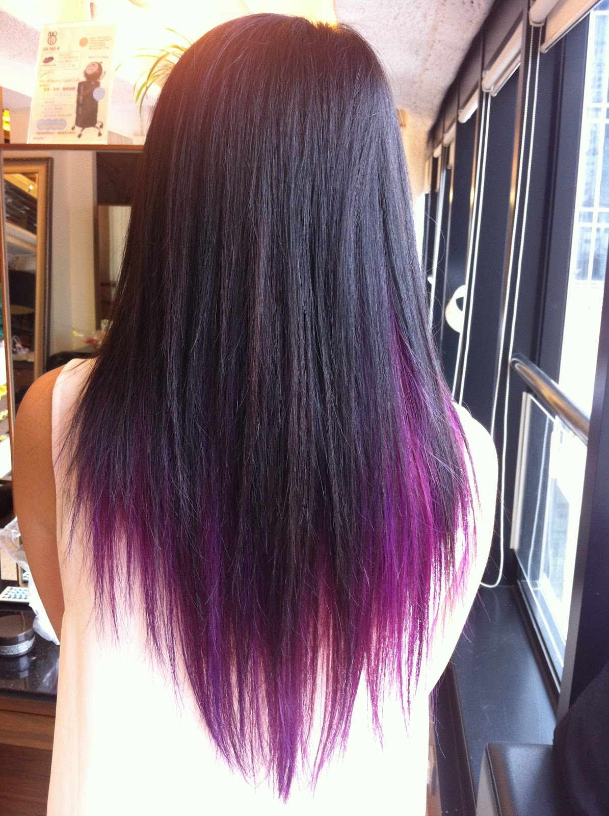 Black Hair With Purple Underlayer Images & Pictures - Becuo