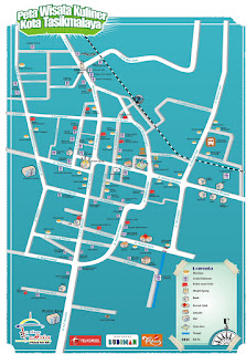 Peta Wisata Kuliner Kota Tasikmalaya