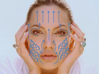 Teknik urutan yang betul boleh membantu wajah lebih tegang