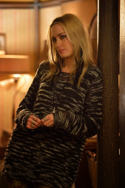 Ruta Gedmintas as internet hacker Dutch Velders in FX The Strain Season 1 Episode 9 The Disappeared