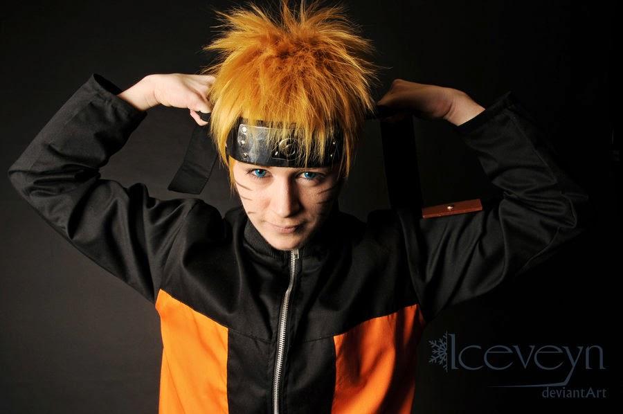 Naruto Cosplay Never Giveup
