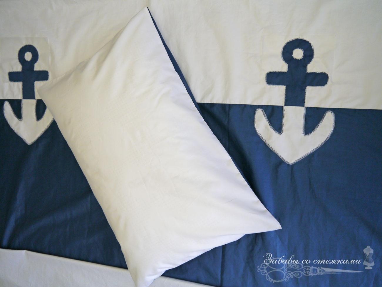 морское комплект постельного белья