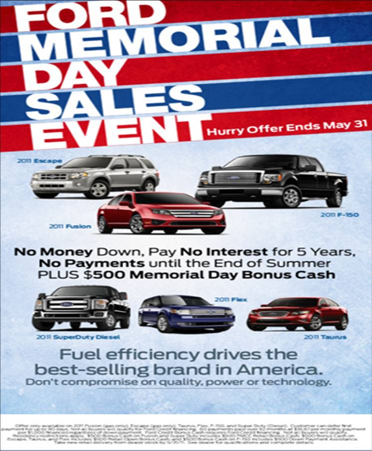 Murphy Ford Blog Ford Memorial Day Sales Event