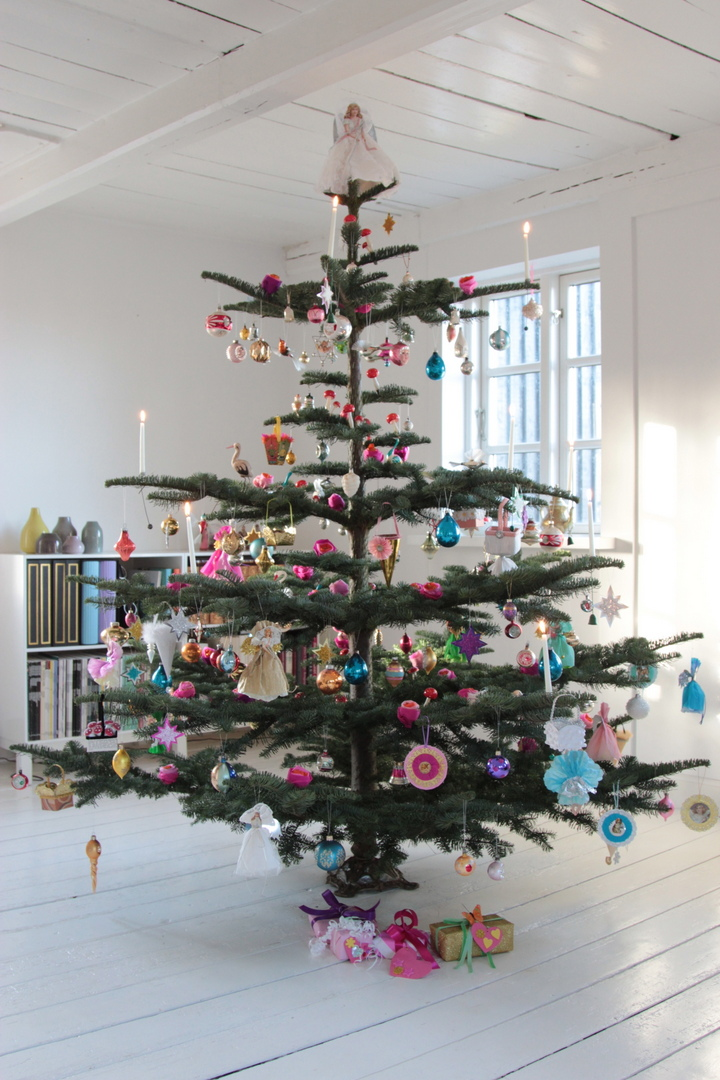 topspir til juletræ