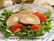 Bravčová panenka plnená ovčím syrom - recept