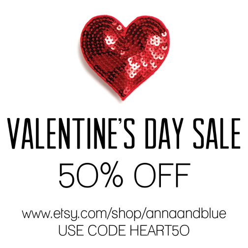 valentines day sale 50 off