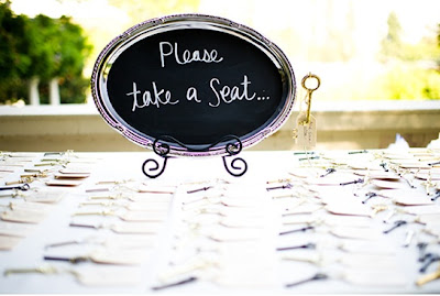 Vintage Wedding Favors - Vintage Keys | Things Festive Weddings & Events