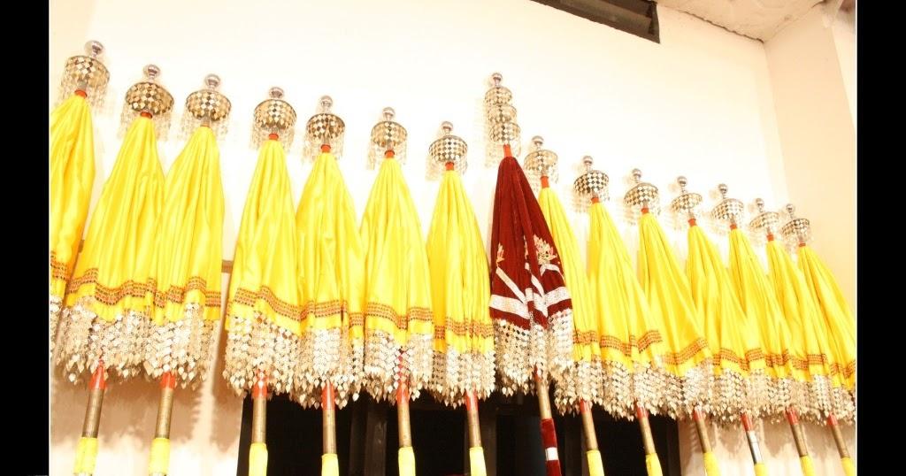 Thrissur Pooram 2012 - Thiruvambaadi Chamayam Umbrella | Vinod ...