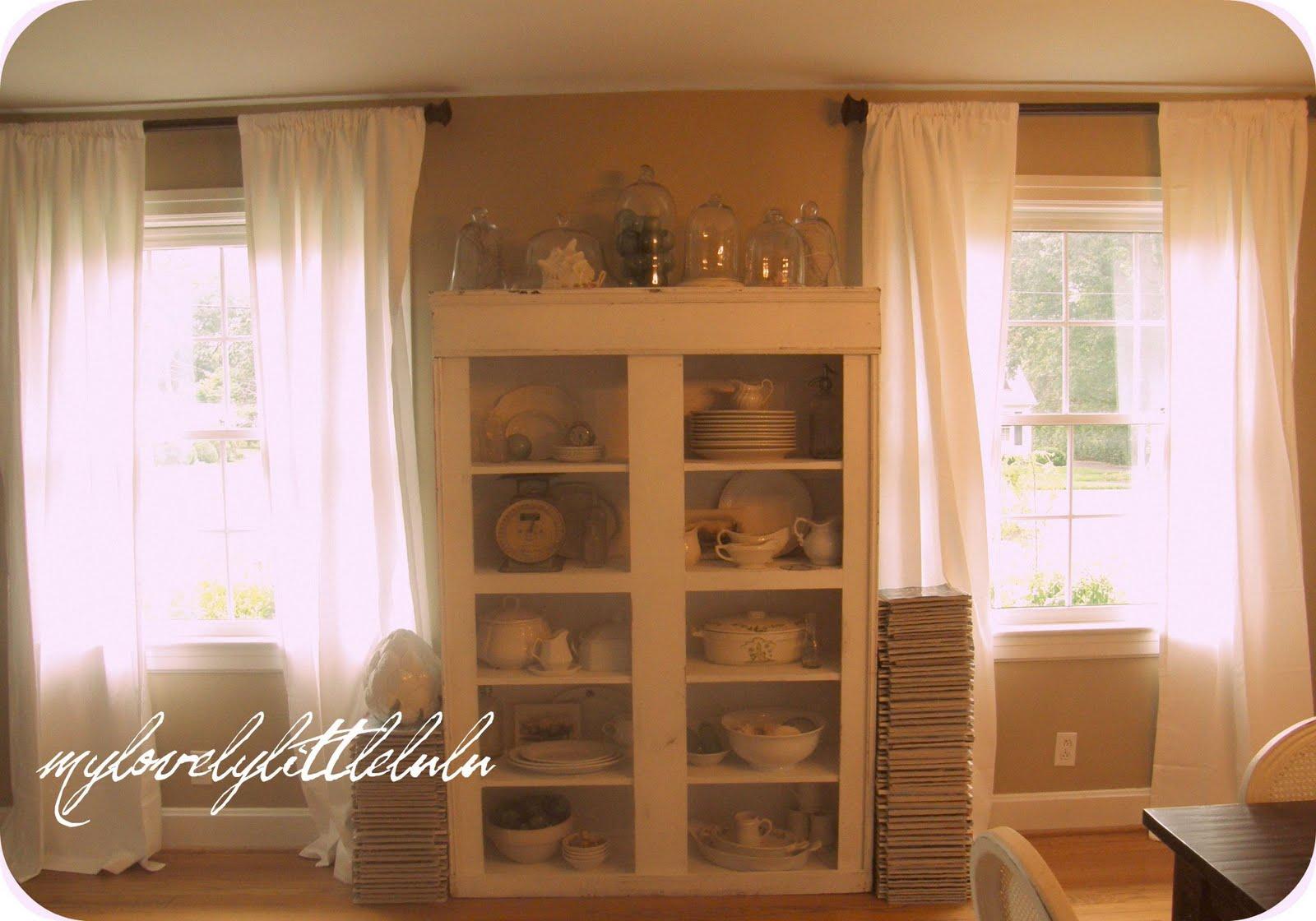My lovely little lulu new window treatments Latest window treatments