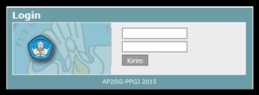 Juknis AP2SG PPGJ Tahun 2015