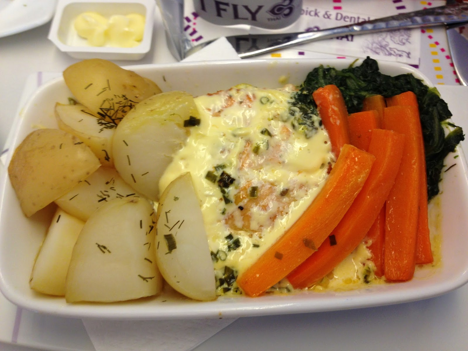 Thai airways economy class meals for Air thai cuisine