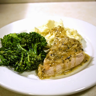 Mustard & Onion Chicken- simplelivingeating.com