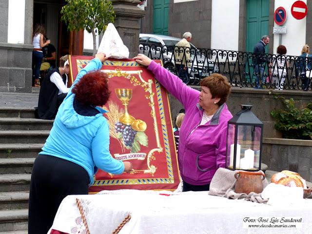Fotos Alfombras Corpus 2015, Arucas, Gran Canaria