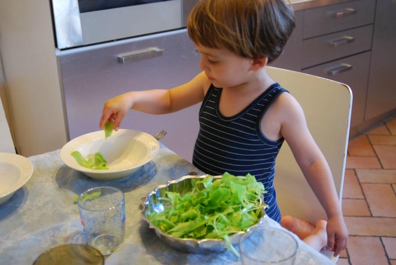 insalata coltivata in balcone