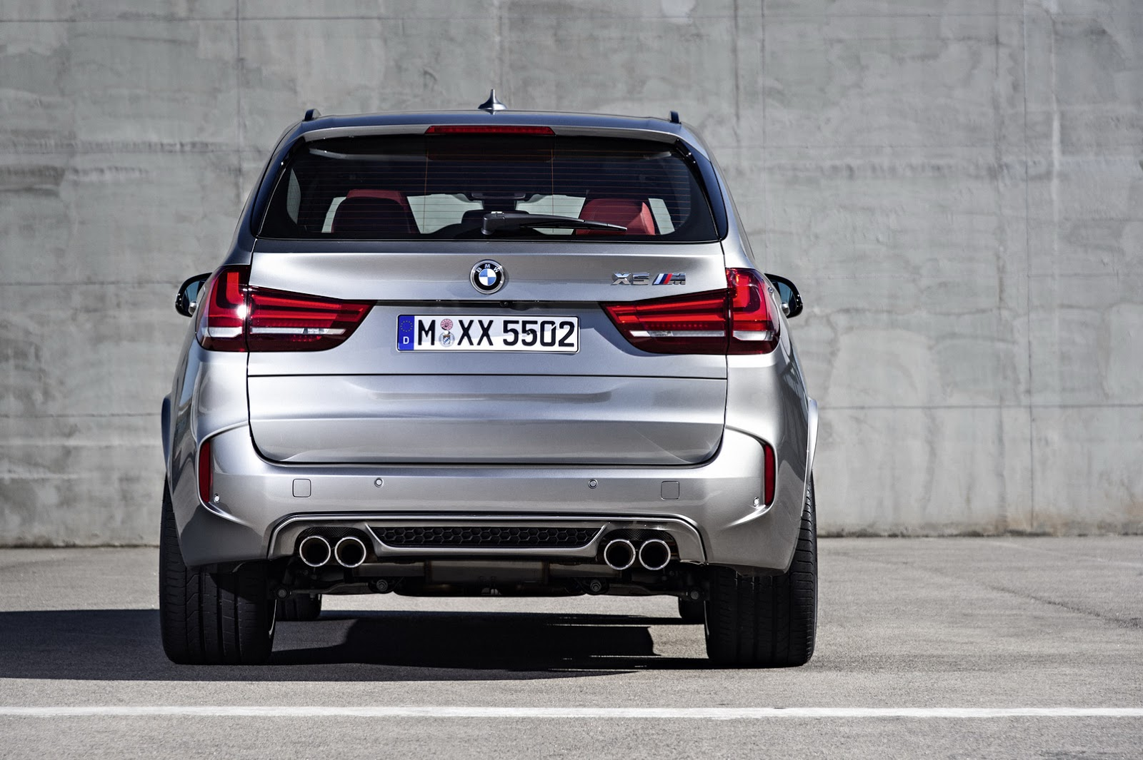 BMW Ushers in New 2015 X5M and X6M with 567HP V8 Turbo [62 Pics]