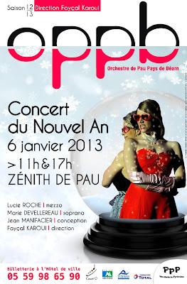 Orchestre de Pau Pays de Béarn   CONCERT DU NOUVEL AN