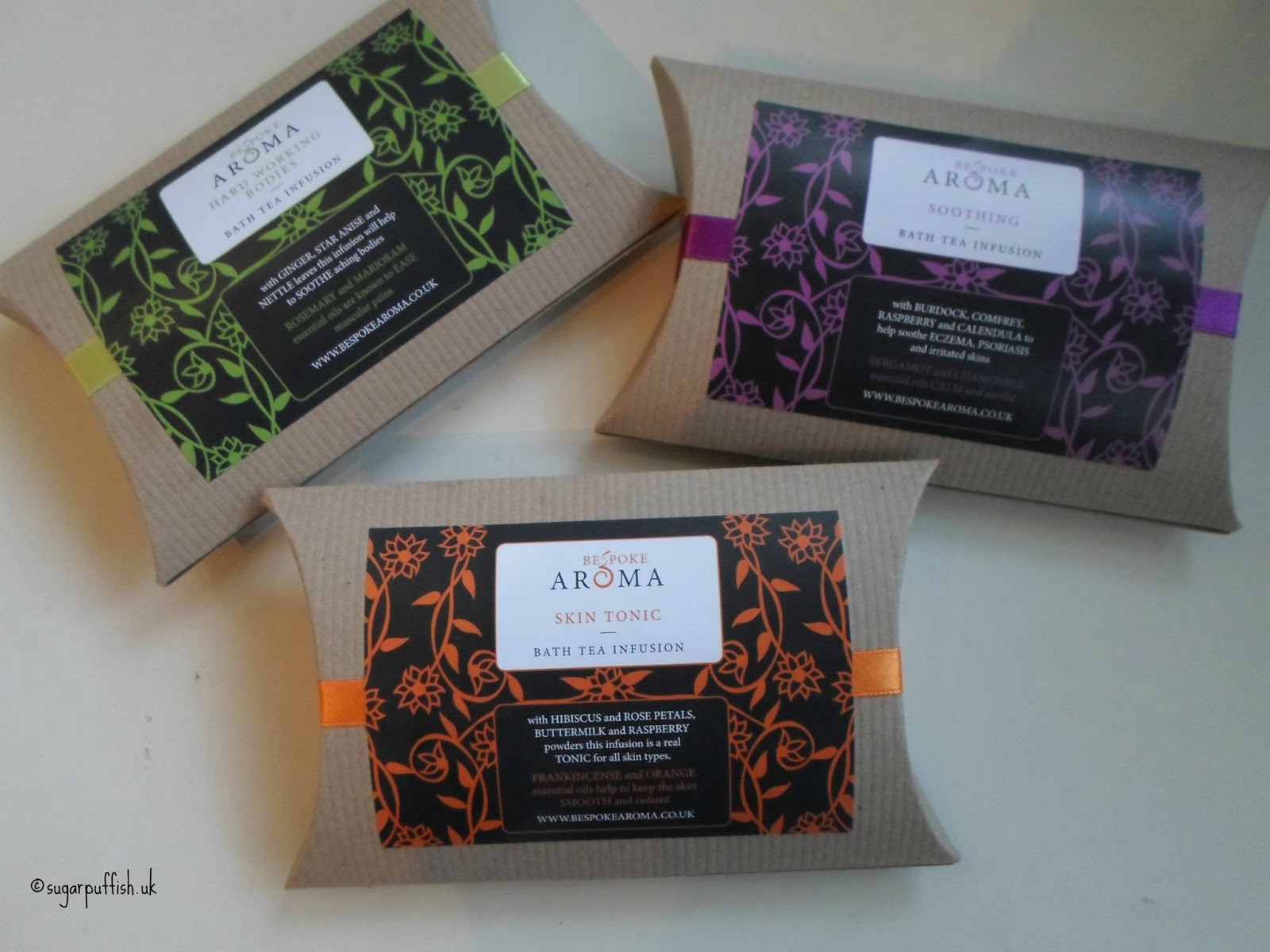 Bespoke Aroma Bath Tea Infusions