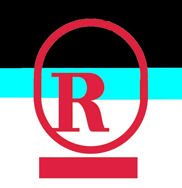 Red R blue logo new
