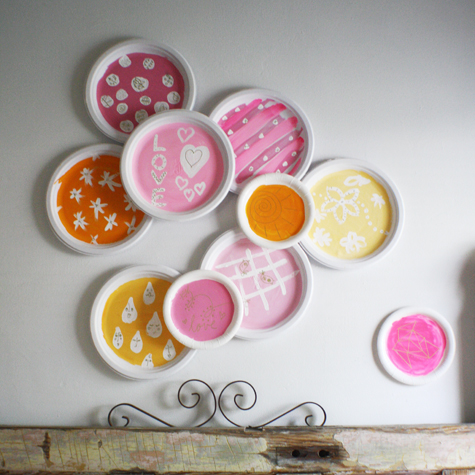 art up a paper plate or two & scrumdilly-do!: art up a paper plate or two