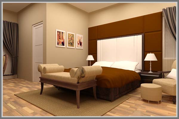 Bedroom With Brown Color, Bedroom Design, Best Design Bedroom