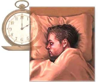 Dibujo por el Día Mundial del Sueño (Persona durmiendo)